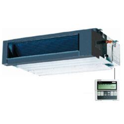 FISHER FSLIF-360AE1/FSOIF-360AE1-3F (beltéri +kültéri egység+kör.km. csatl.) Légcsatornás split klíma 10,55 kW,Inverter,Hősziv.,R410A, 400V