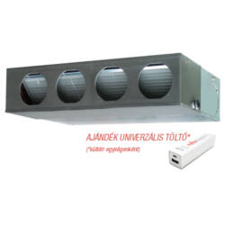 FUJITSU ARYG30LMLE/AOYG30LETL (kültéri+beltéri egység+UTD-RF204) Légcsatornás split klíma 8,5kW, R410 A inverter hősziv
