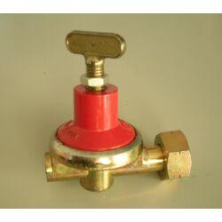 Állítható gáznyomásszabályozó 0-4bar 10kg/h